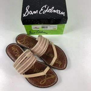 Sam Edelman Gwennie sandals blush natural sz 6 NWT